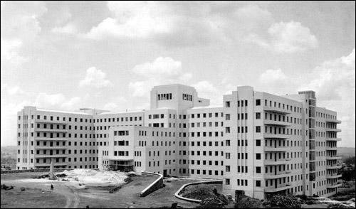 glavna bolnišnica v sao paulu po rekonstrukciji leta 1942