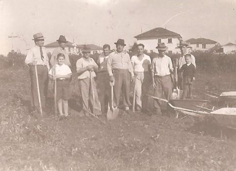 Brazilija NAŠ DOM prvi dan izgradnje 8.6.1941