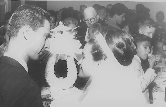 Brazilija Robertz Bele predsednik Naš Dom se je poročil z Silvijo Chianfranc 4,5,1964