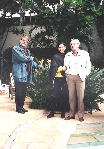 Brazilija V.O. je vedno spejemal goste ; Marinček in Blaznikova