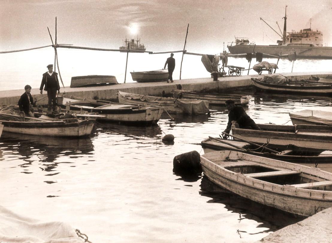 Večer v koperskem pristanišču370