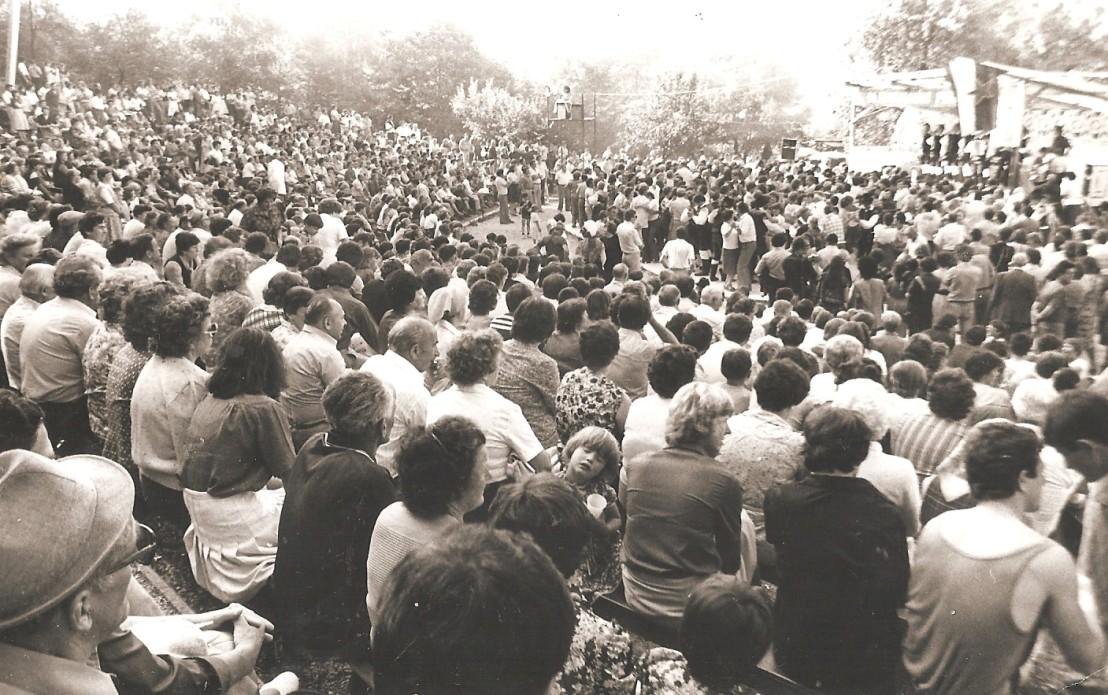 Množiva na pikniku v Škofji Loki1678