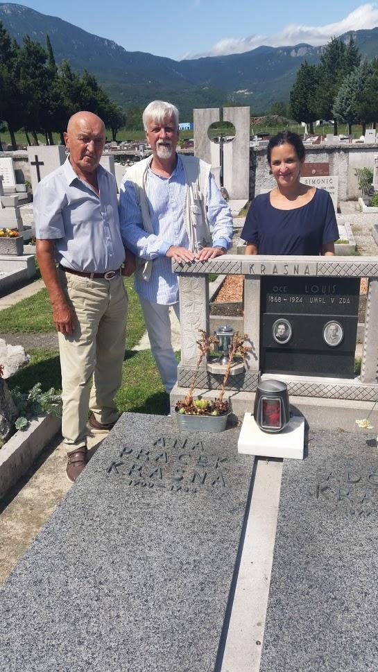Na grobu Ane Krasna