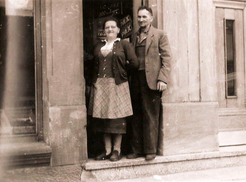 Slovenski trgovec Jamnik v Freymingu 19592545