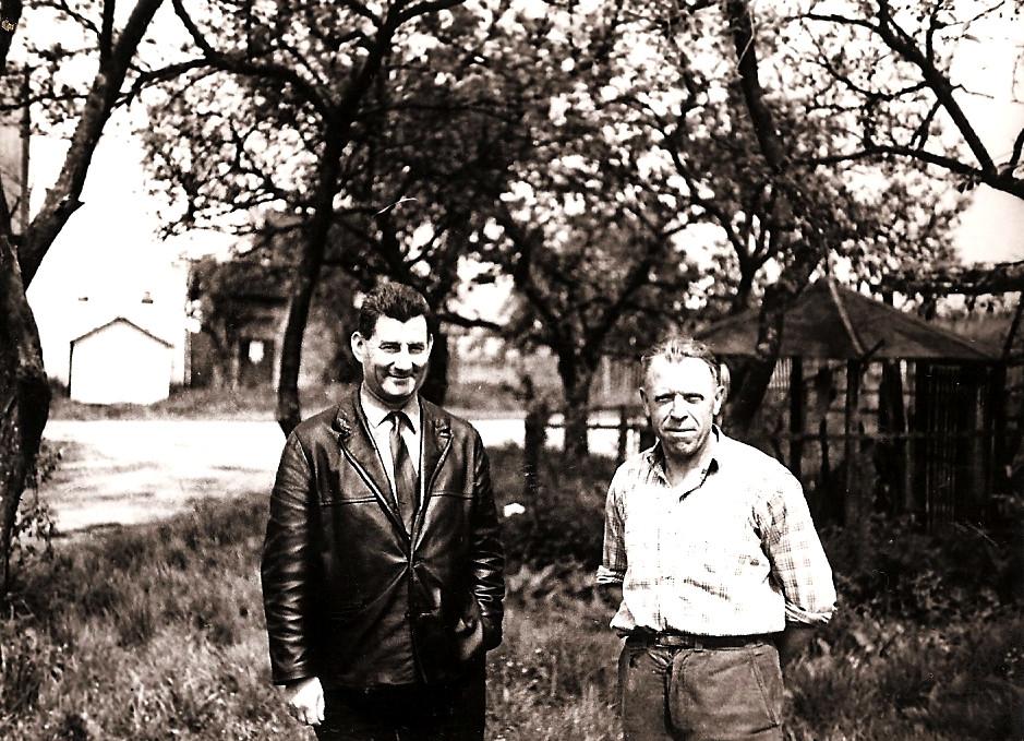 Alois Košmrl, obratovodja na žagi2792