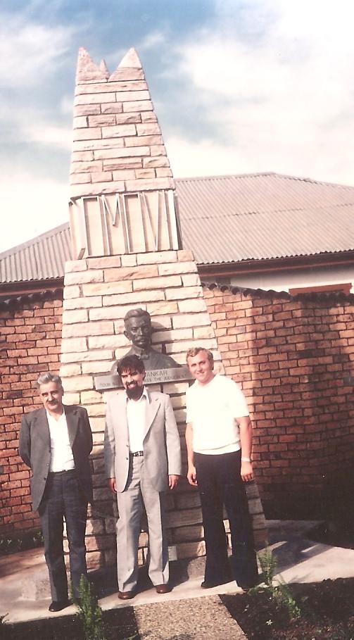 Drago Seliger, Ciril Zlobec in Peter Krope v Sydneyu1374